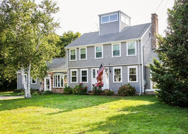 Historic Home w/ Pool - 7 Blocks from Seagull Beach, holiday rental in West Yarmouth