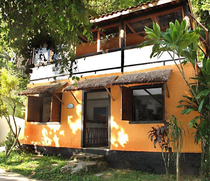 Casa de frente para o mar, em Picinguaba, até 4 pessoas, location de vacances à Trindade