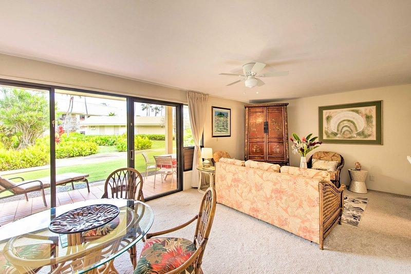 Kauai Beach Villa in Lihue w/Pools, Steps to Beach, holiday rental in Kauai