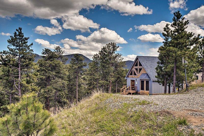 Questa casa è circondata da bellissime montagne!