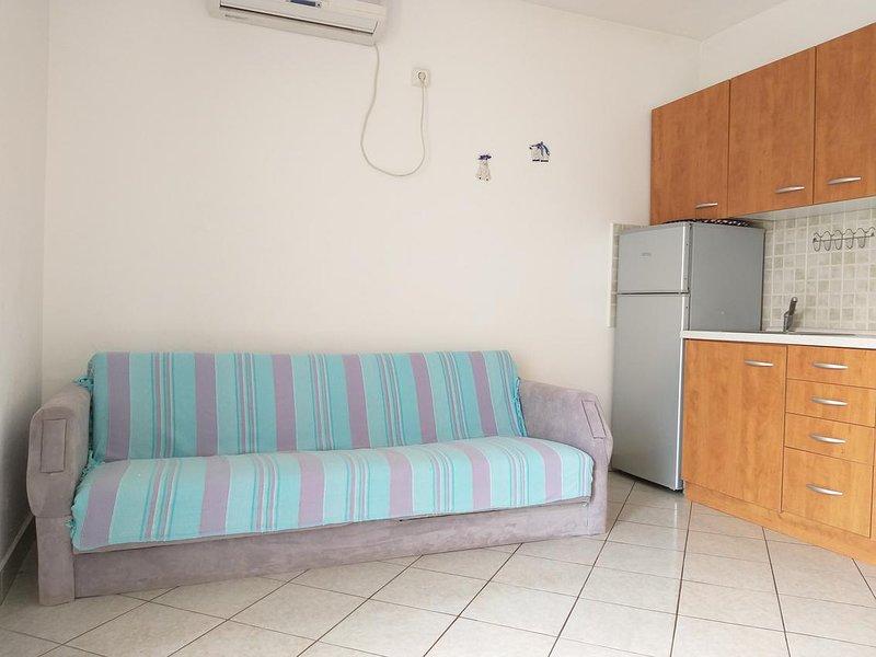 Woonkamer, oppervlakte: 8 m²