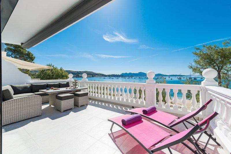 VORAMAR BEACH - Apartment for 6 people in Port de Pollença, aluguéis de temporada em Formentor