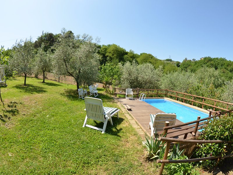 Falciano Villa Sleeps 5 with Pool and WiFi - 5247708, holiday rental in Montecatini Terme