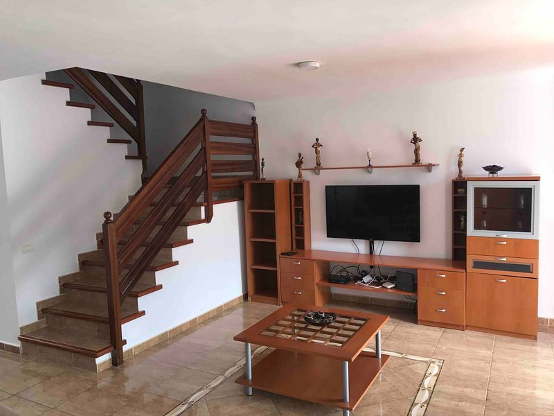 Spacious house with terrace & Wifi, holiday rental in El Burrero