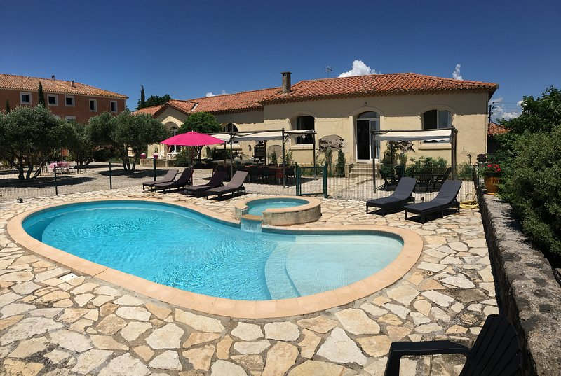 Amazing villa with swimming-pool, holiday rental in Portiragnes