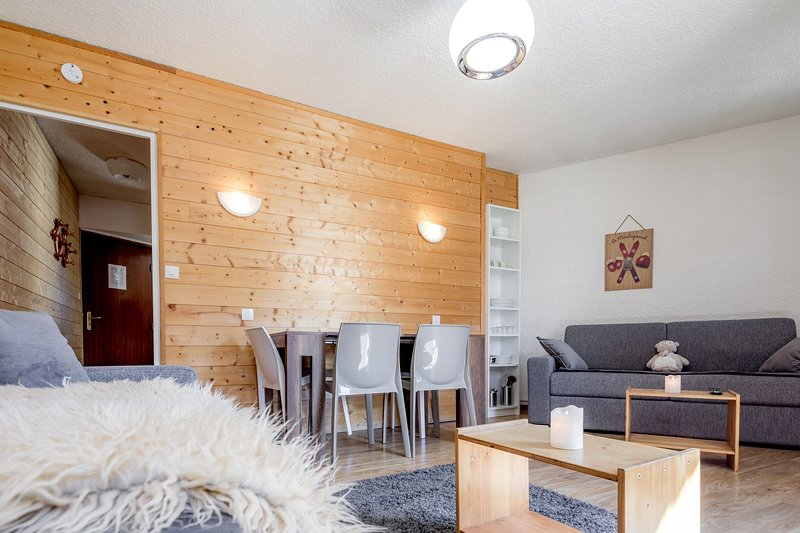 This studio may feature 2 Double sofa beds, or 1 Double sofa bed and a Bunk bed.