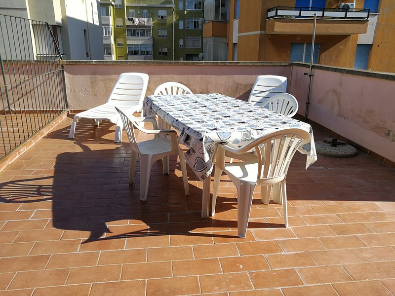 Amazing apartment with terrace, vacation rental in Populonia