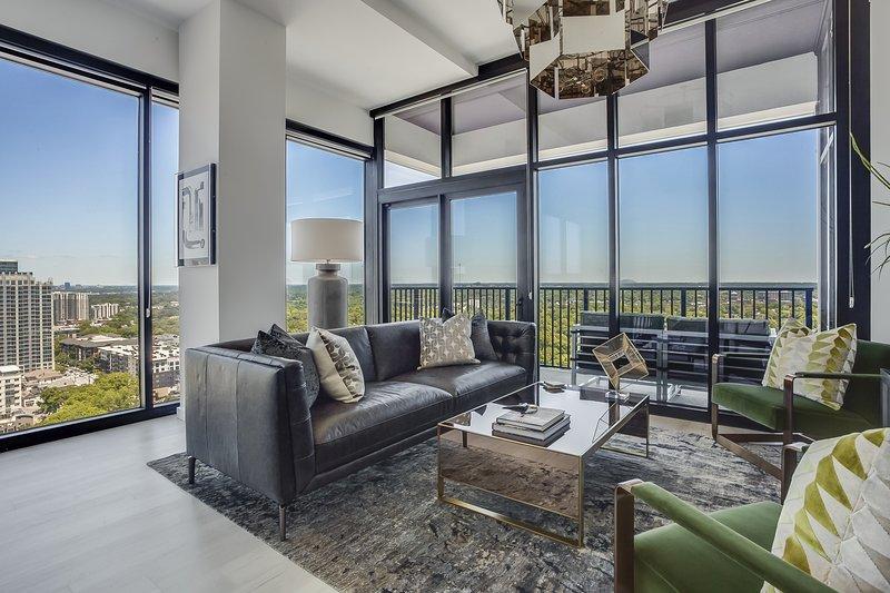 Penthouse Panorama, holiday rental in Atlanta