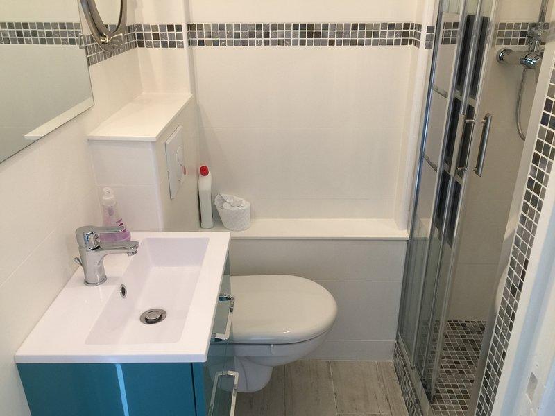 Shower room - Italian shower - Hanging WC