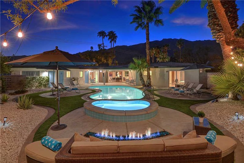 The Retro House, alquiler de vacaciones en Greater Palm Springs