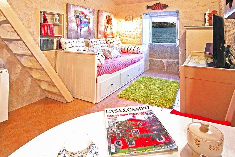 Combarro Villa Sleeps 3 - 5801728, vakantiewoning in Combarro