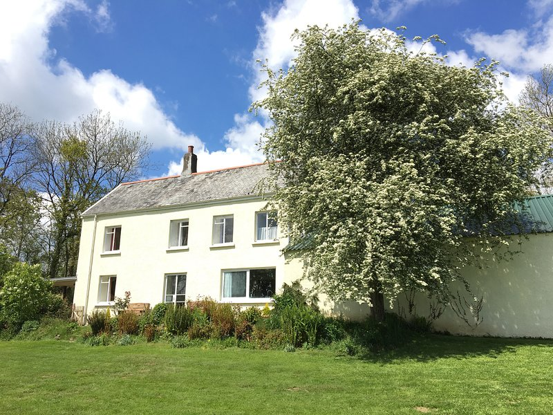 MARSH COTTAGE, rural detached cottage, enclosed garden, dog-friendly, in North, holiday rental in Romansleigh