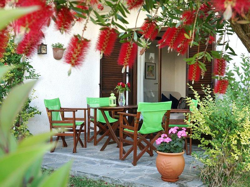 'The Ocean Maisonette' a family house in Siviri,Halkidiki, holiday rental in Kassandrino