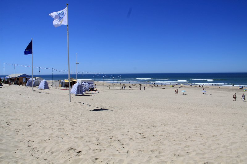 The beach at 150 meters
