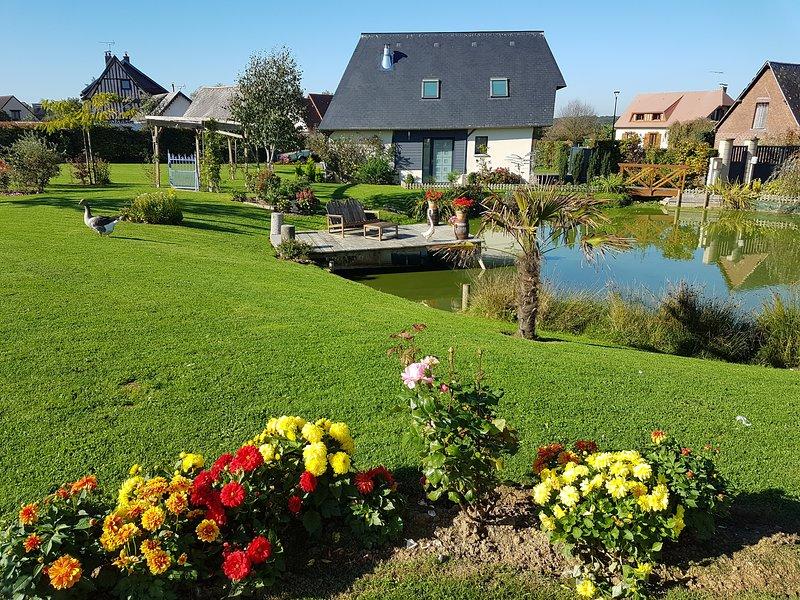 Le jardin du Hamelet, location de vacances à Saint-Paër