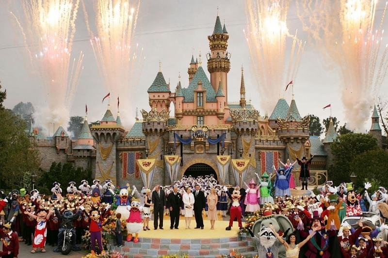 Have fun at Disney! Happiest place on Earth. Enjoy exciting attractions, parades, fireworks and seasonal events