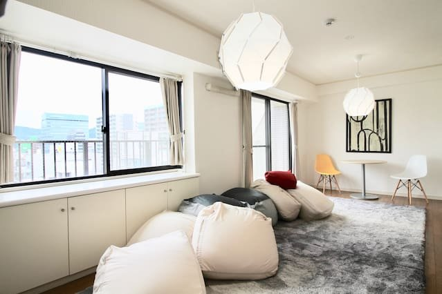Spacious Family Apartment Next To Peace Park C, holiday rental in Hiroshima