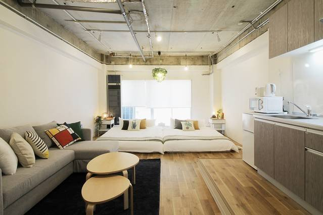 202 : Bright Modern Apt Close to Peace Park 6ppl, holiday rental in Hiroshima