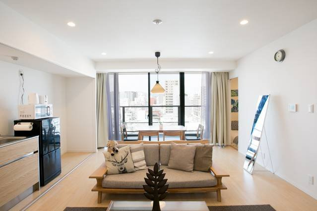 Spacious apartment 5mins ride by bus to PeacePark, holiday rental in Hiroshima