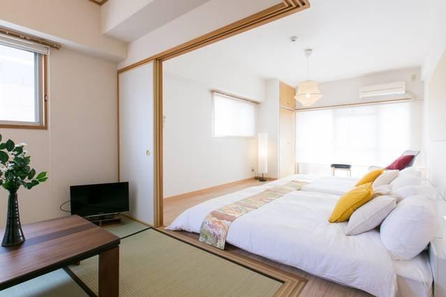 2 BR apartment - 3 mins to the PeacePark 601 – semesterbostad i Hiroshimaprefektur