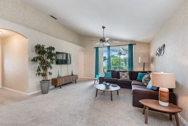Lovely 4BR 2Bth Highlands Reserve Home with Private Pool, Spa and Gameroom, vacation rental in Orlando