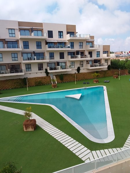 Orange Holiday Housing - Sabrina 002 (top floor with large roof terrace), holiday rental in La Zenia