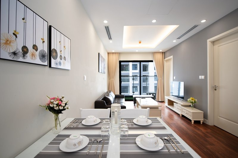 VipHome04#Modern Apartment 2BR#Imperia Garden, holiday rental in Ha Dong
