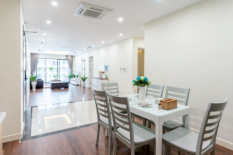 VipHome06#Class Apartment 3BR#Imperia HaNoi#Garden View#Tower, holiday rental in Hanoi