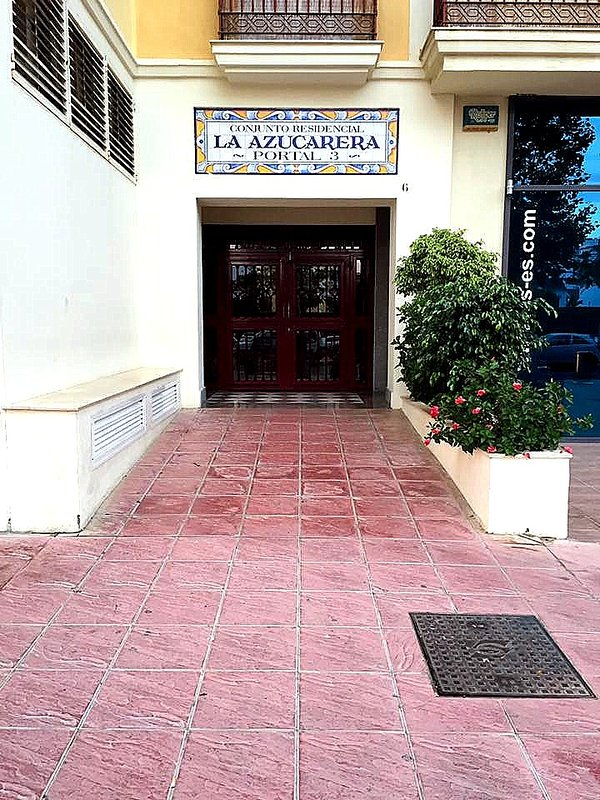 The entrance to the gate