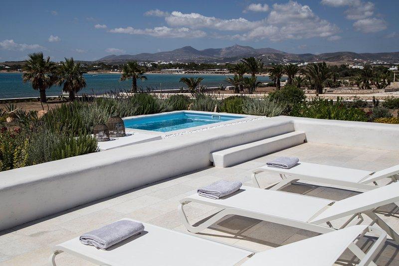 3-Bedroom Sea View Villa 2 with Private Pool + extra Space | The Sand Collection, aluguéis de temporada em Santa Maria