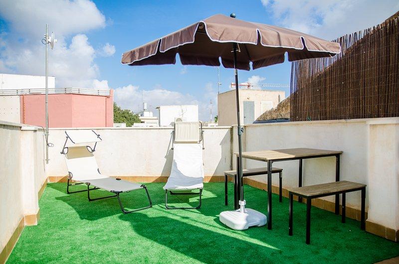 Loft 2 personas con Terraza Centro ciudad, holiday rental in Cartagena
