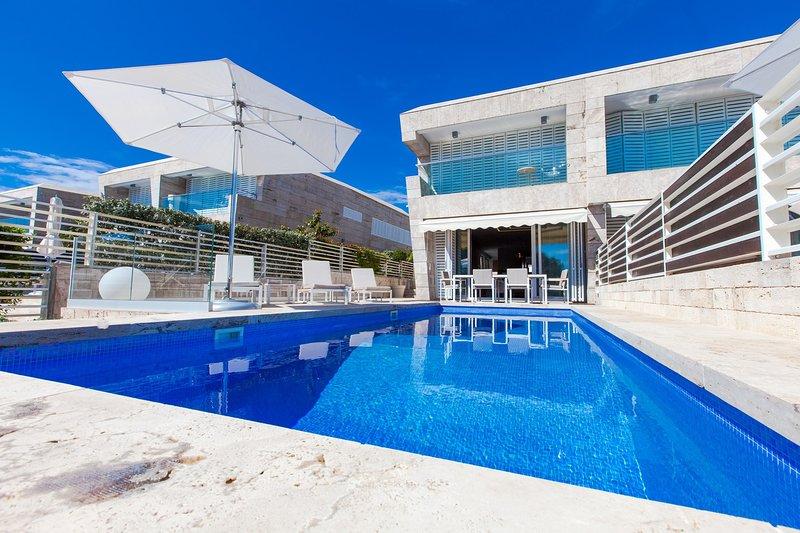 Beautiful Villa Olea, in Dalmatia, with a Pool, vacation rental in Petrcane