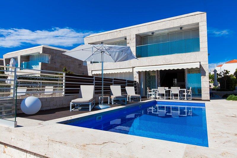 Modern Villa Calla, in Dalmatia, with a Pool, holiday rental in Petrcane