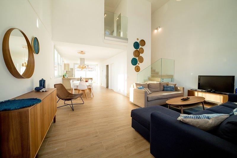 VILLA ALVAR- Diseño único. Oasis de tranquilidad con Piscina privada., alquiler de vacaciones en El Médano