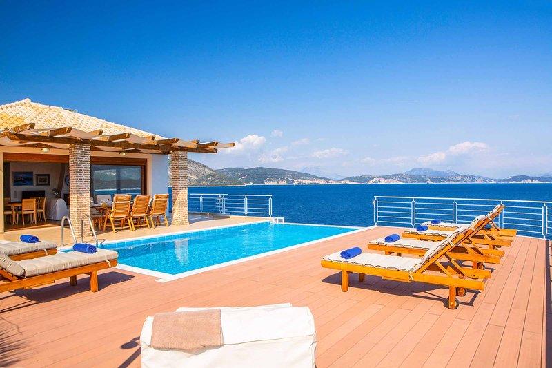 Villa Iris Karavi, location de vacances à Sivota