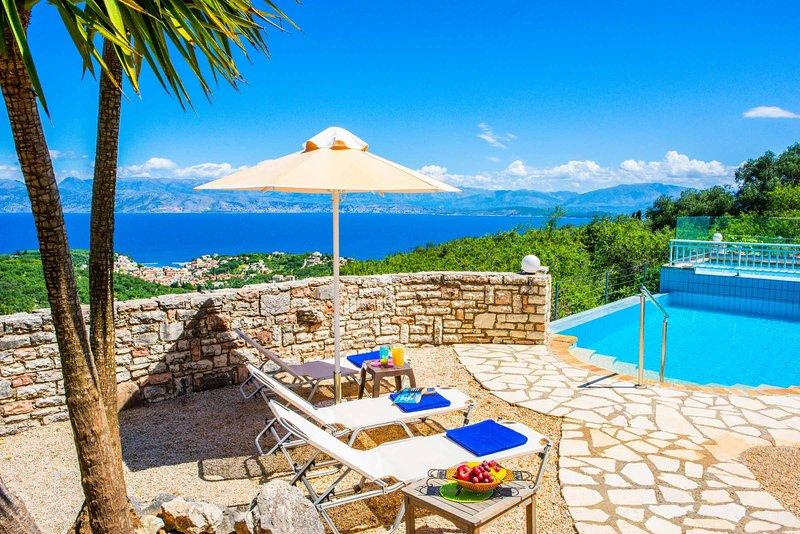 Villa Kerkyra Kristina, holiday rental in Peritheia