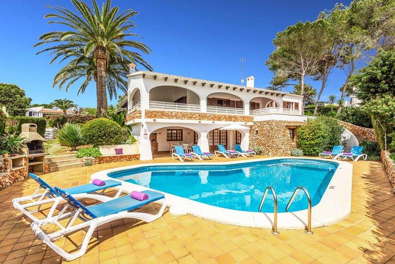 Villa Las Palmeras, location de vacances à Binibeca