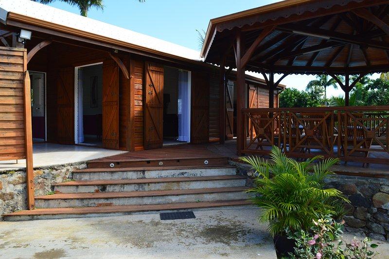 BAMBOU PARADISE, holiday rental in Sainte Rose