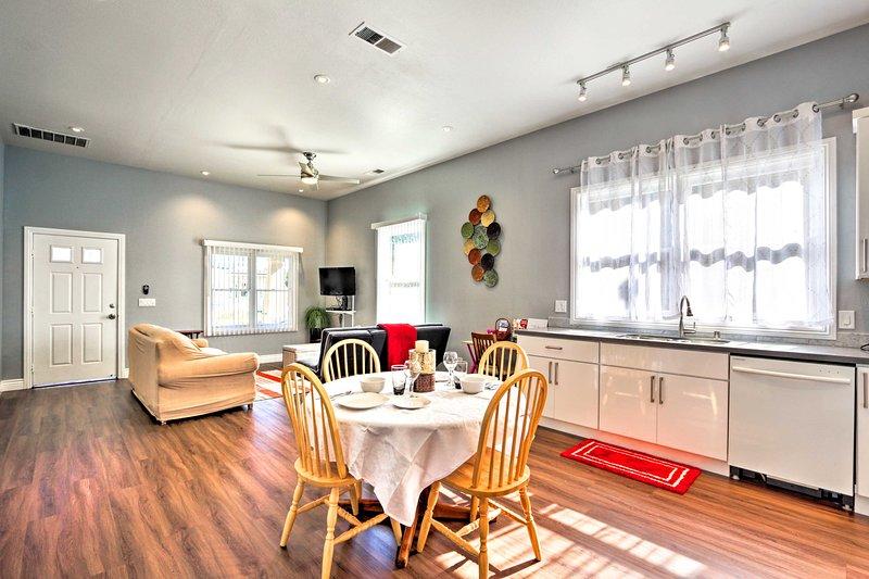Aproveche al máximo su escapada a Wine Country cuando reserve este apartamento de alquiler.