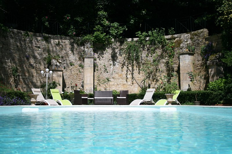 Shared heated outdoor pool