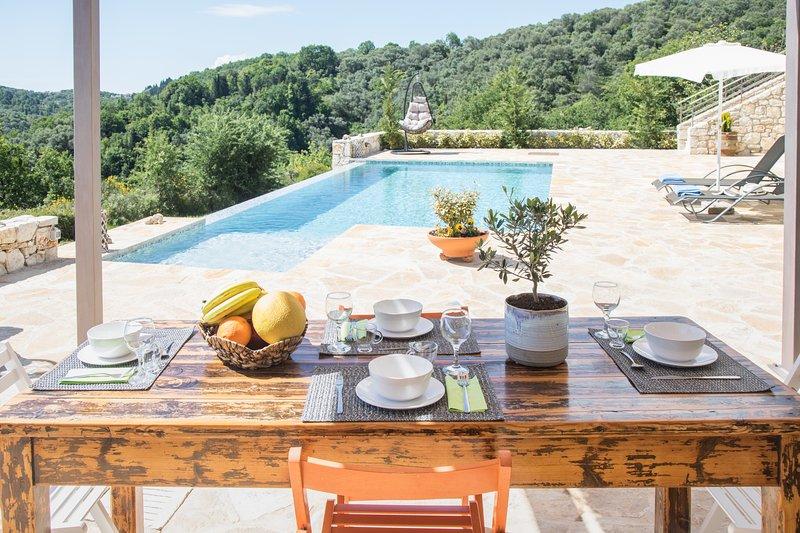 Villa Venetia Corfu, holiday rental in Kassiopi