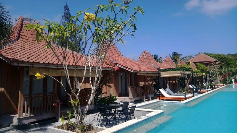 Panorama Cottages Beach Village Ekas - Double room with sea view 1, vacation rental in Sikur