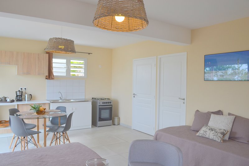 Beautiful studio with sea view, holiday rental in L'Eperon