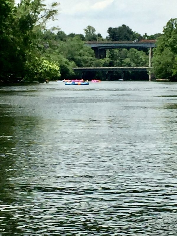 Float down the French Broad River