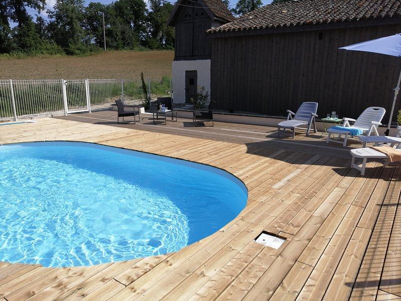 Maison de campagne au calme, holiday rental in Serres-et-Montguyard