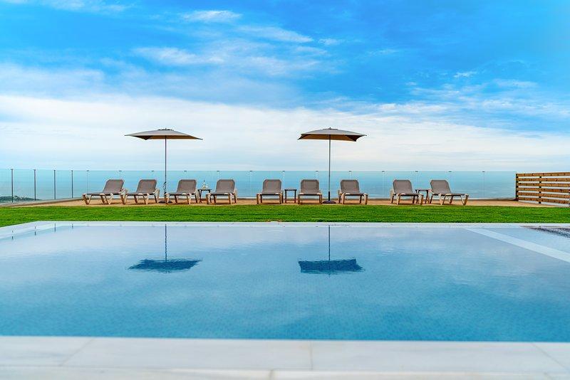 Amazing villa with swimming-pool, holiday rental in Mononaftis