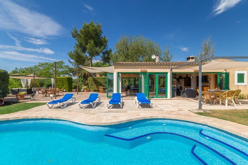 Can Rito, Finca 5StarsHome Mallorca, holiday rental in Calonge