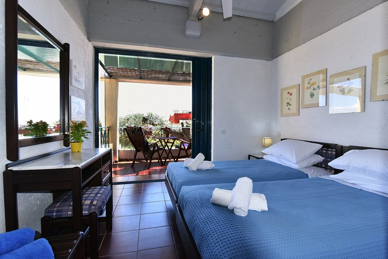 Barbati Beach House - 704 - Sea View Apartment, vacation rental in Barbati