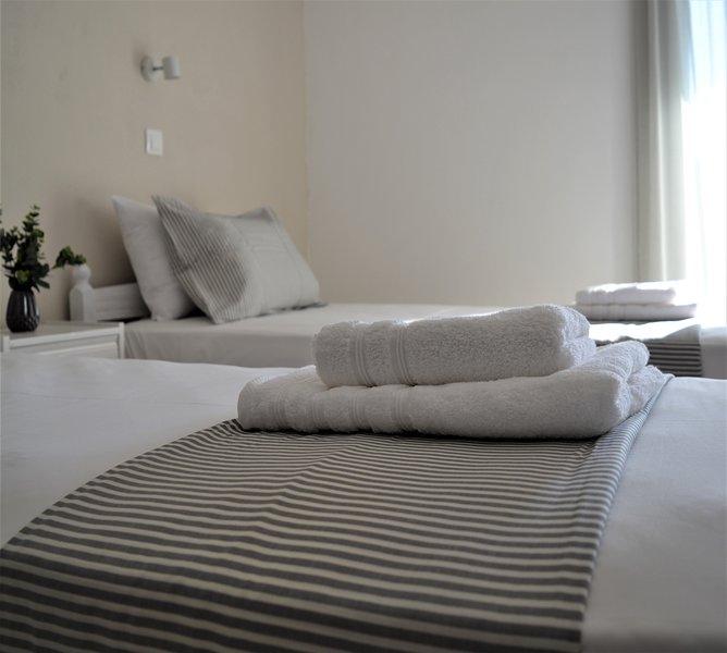 Alina Apartment in the heart of Kavos, alquiler de vacaciones en Kavos