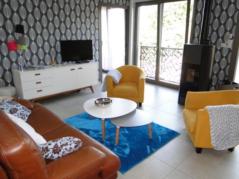 Le loft, gite de qualité pour 5 personnes, holiday rental in Haroue
